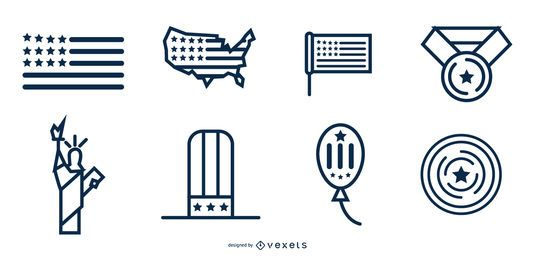 independence day icondesigns