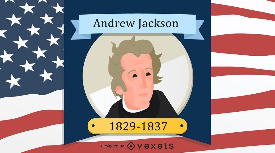 Presidente Andrew Jackson Design