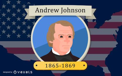 Presidente Andrew Johnson Design
