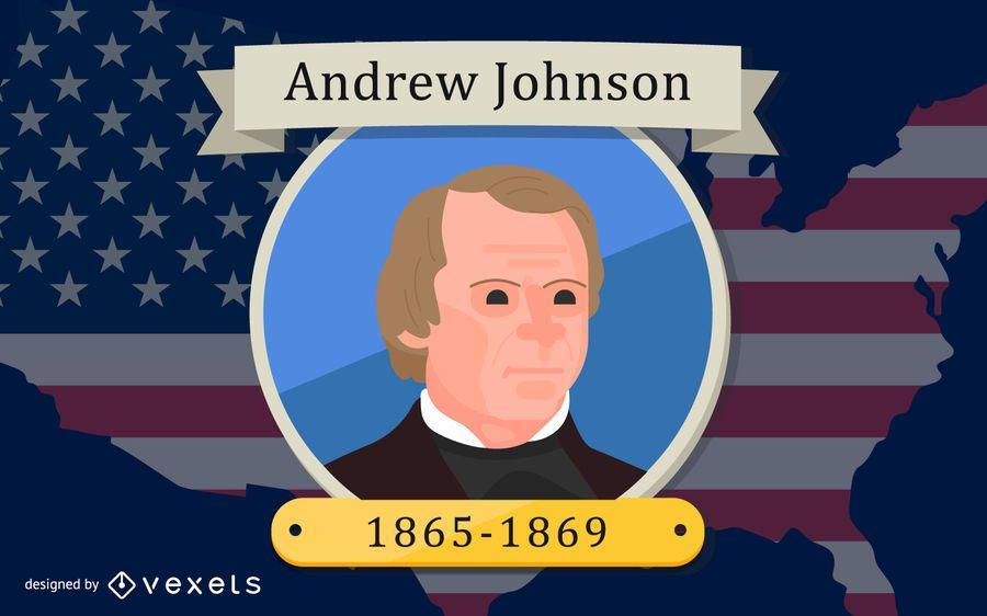 President Andrew Johnson Design