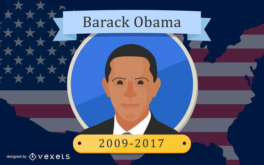 Diseño del presidente Barack Obama