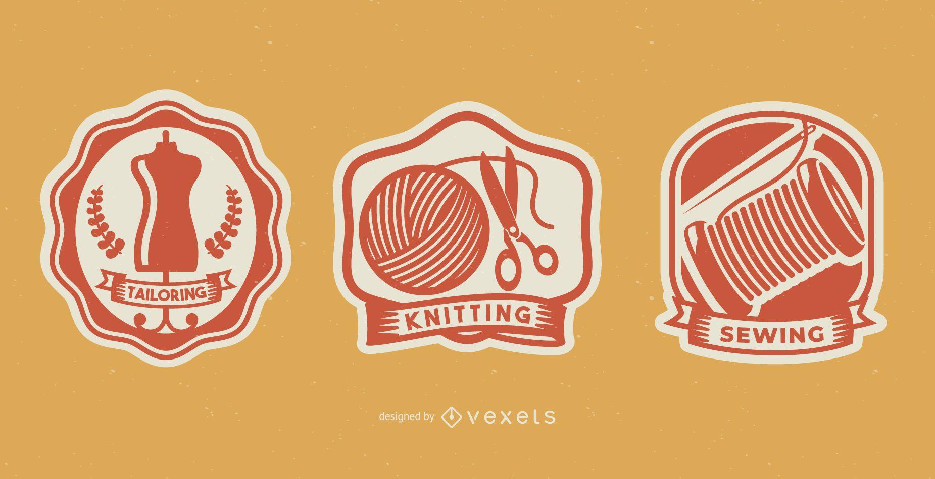 Sewing Handmade Badges