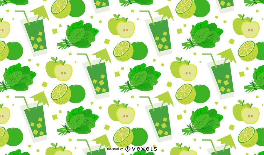 Design de padrão de desintoxicação verde