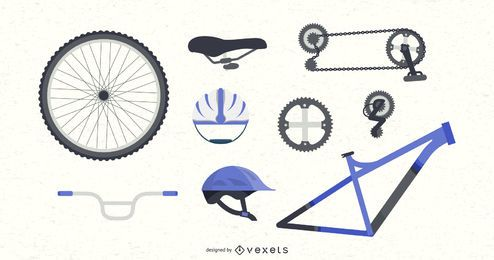 Bicycle Parts Set