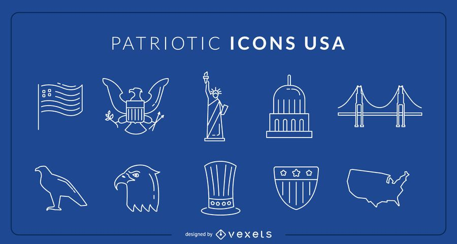 Iconos patrios de eeuu