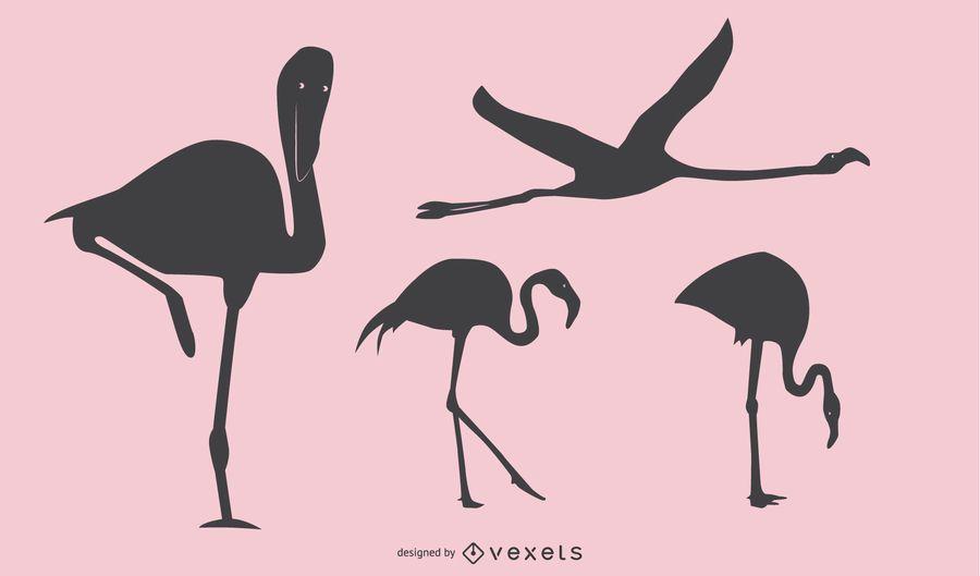 Flamingo Silhouette Design