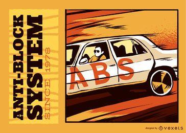 Cartel del ABS