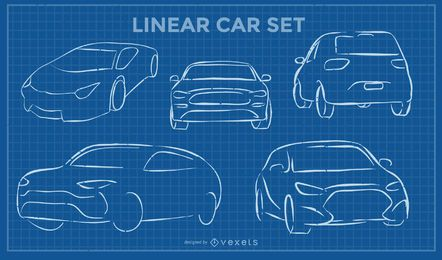 Linear Car Set