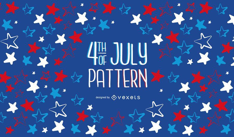 4th of Jully Pattern Design