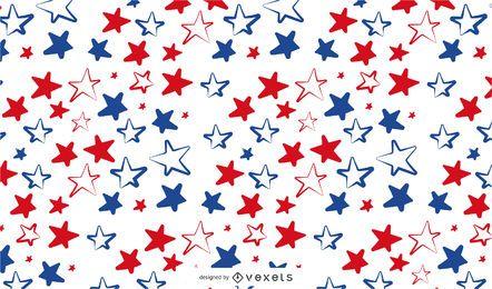 Usa's Stars Pattern