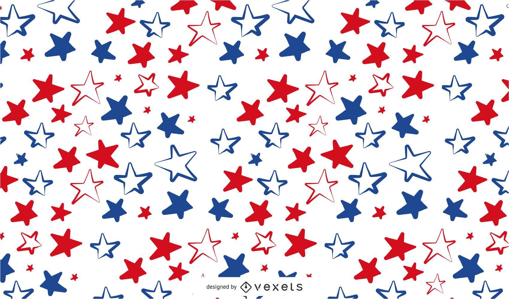 Patrón de estrellas de Estados Unidos