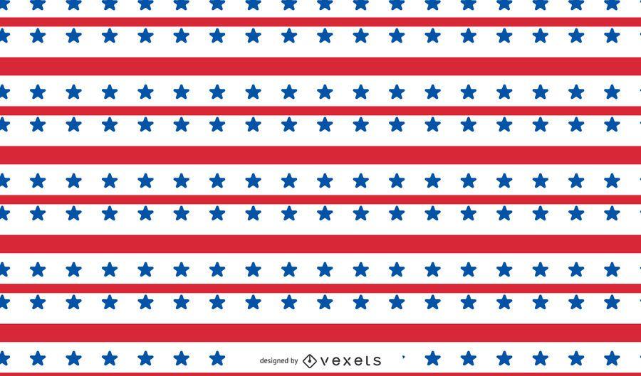 Diseño de patrón de Estados Unidos