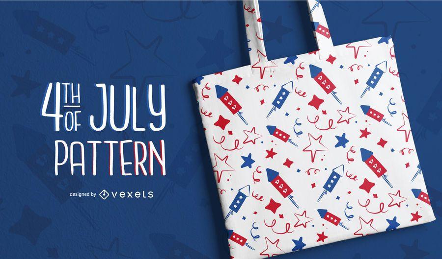 4. Juli Muster