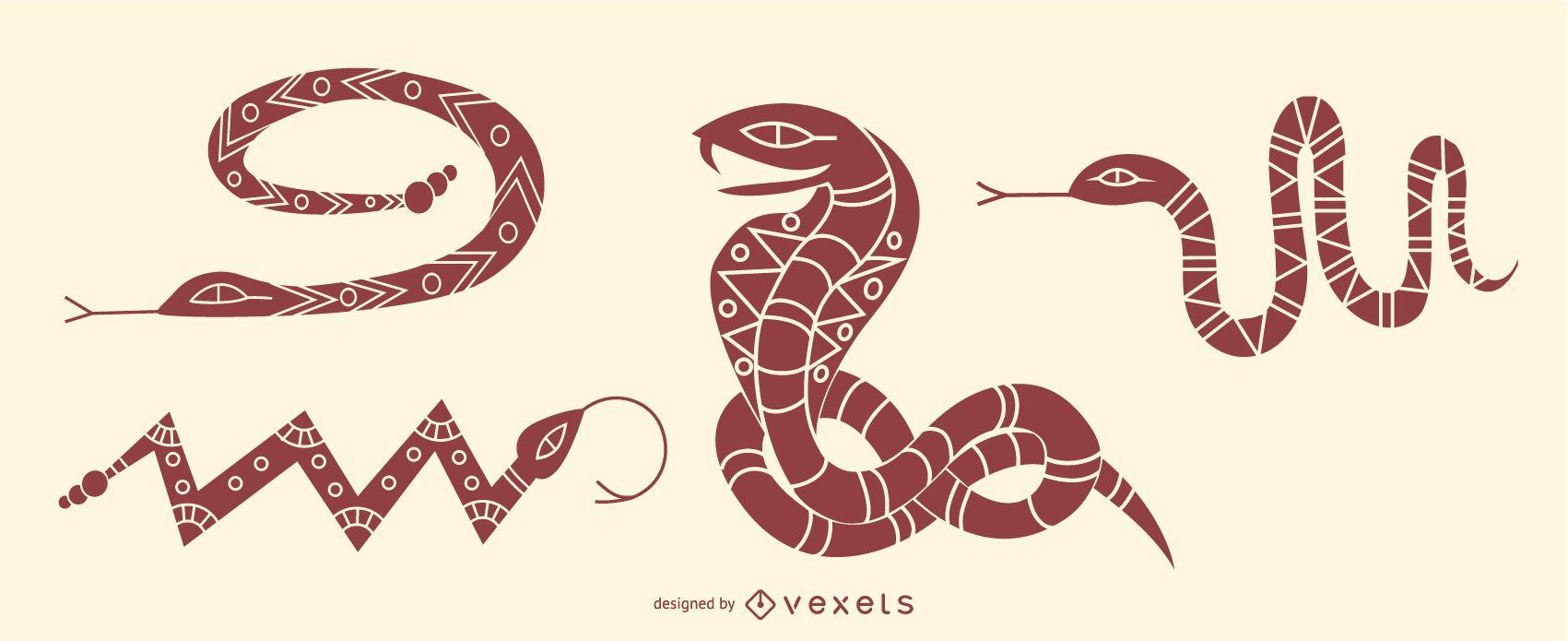 Stylish Snake Set