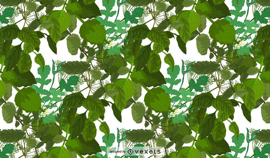 Herbs Pattern Design