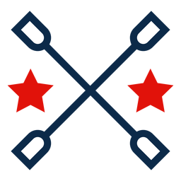 4. Juli grafische Ikone