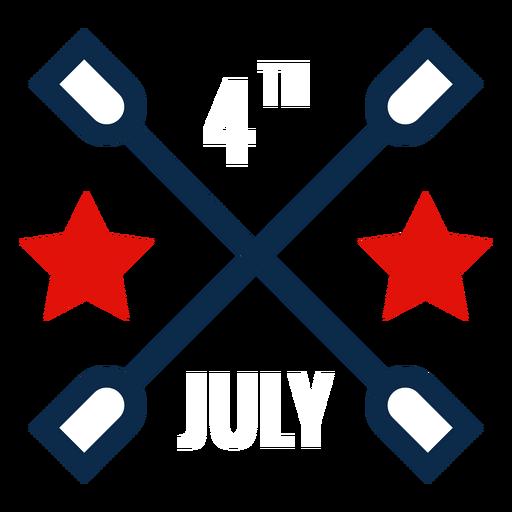 4 de julio icono gr?fico