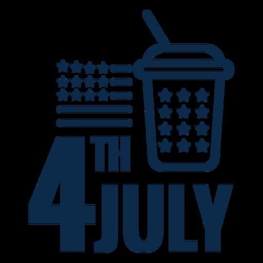 4th july soft drink flat Transparent PNG