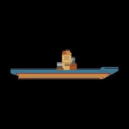 Ícone de navio de porta-aviões