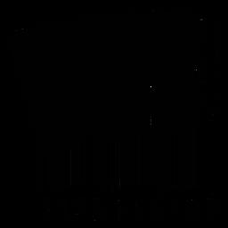 Barcode mit Akkordeon