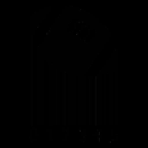 Código de barras con balón de fútbol americano. Transparent PNG