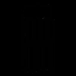 Barcode mit Bierkrug