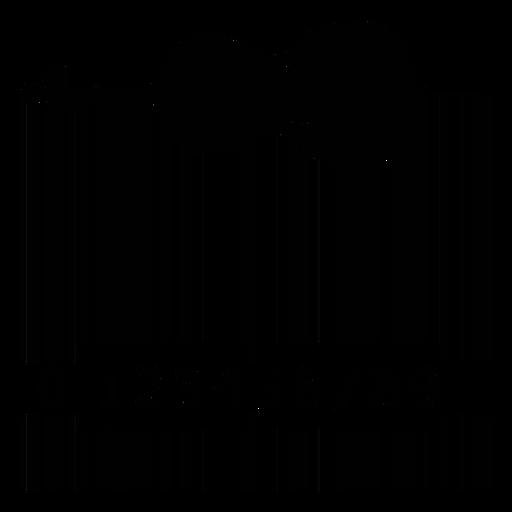 Código de barras con cello Transparent PNG