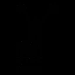 Barcode mit Cheerleader