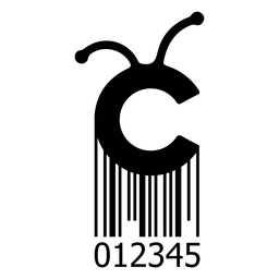 Barcode mit Cricut-Logo