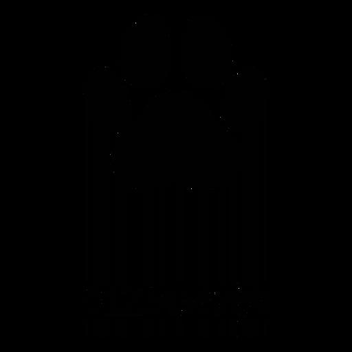 Código de barras con estampado de pata de perro Transparent PNG