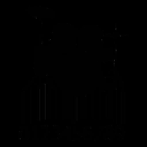 Código de barras con tambores. Transparent PNG