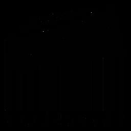 Código de barras com glockenspiel