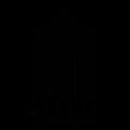 Código de barras con hoja de arce.