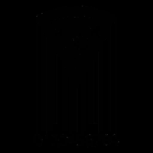Barcode mit Pizzascheibe Transparent PNG