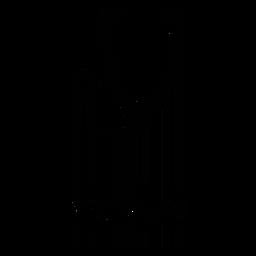 Código de barras com estetoscópio