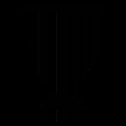 Código de Barras com Taça Troféu
