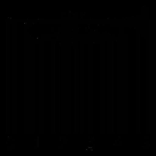 Código de barras con trompeta