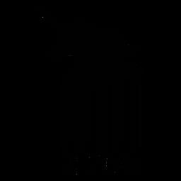 Barcode mit Einhorn