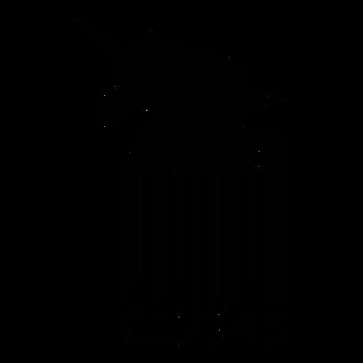 Código de barras con unicornio Transparent PNG