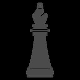 Pieza de ajedrez obispo