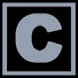 C-Programmiersprache flach