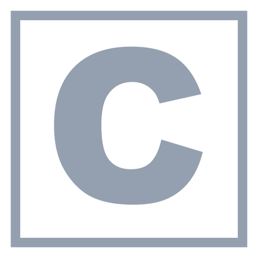 C programming language flat Transparent PNG