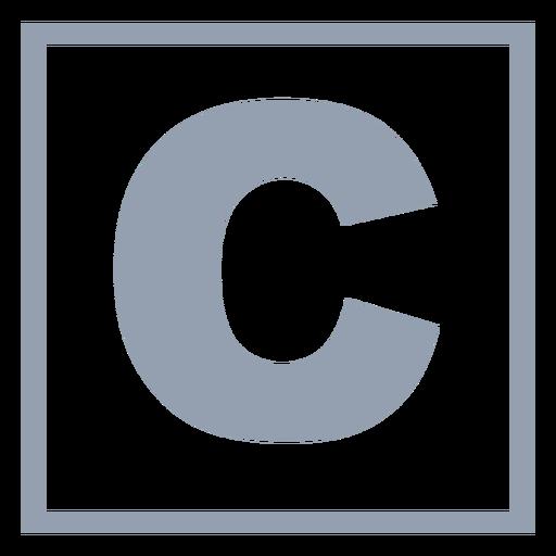 Lenguaje de programación c plano Transparent PNG