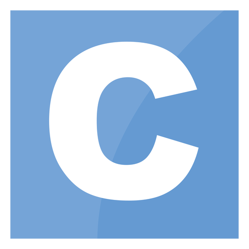 C programming language icon Transparent PNG