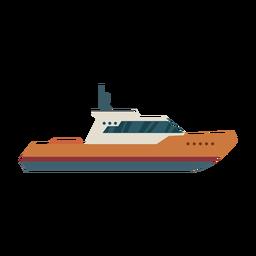 Kajütboot Symbol