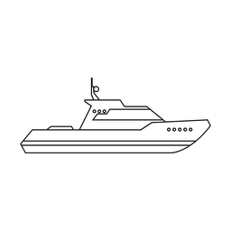 Cabin cruiser boat line