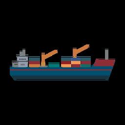 Ícone de navio de carga