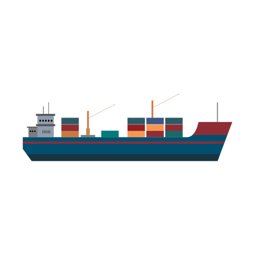 Cargo ship icon Transparent PNG
