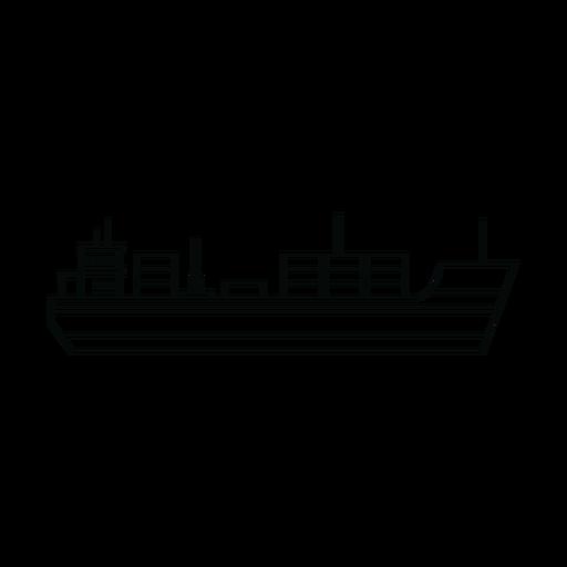 Línea de buque de carga