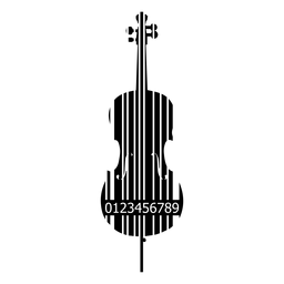 Código de barras de violonchelo